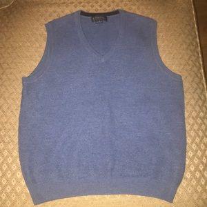 Men's brooks brothers blue vest size small
